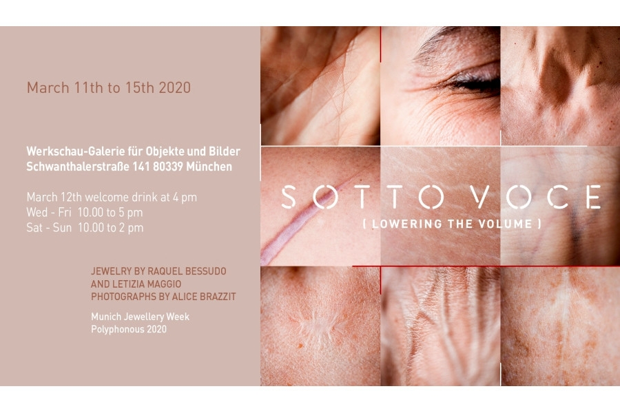 SOTTO VOCE [ lowering the volume] - MOSTRA CANCELLATA